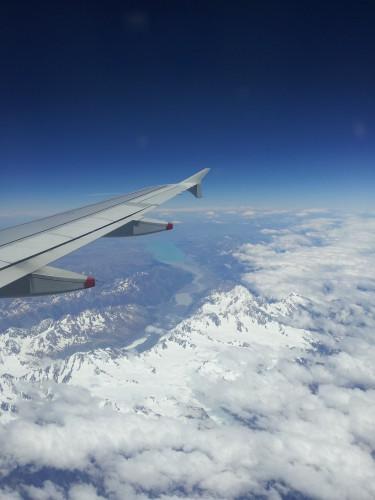 Flight Mount Cook