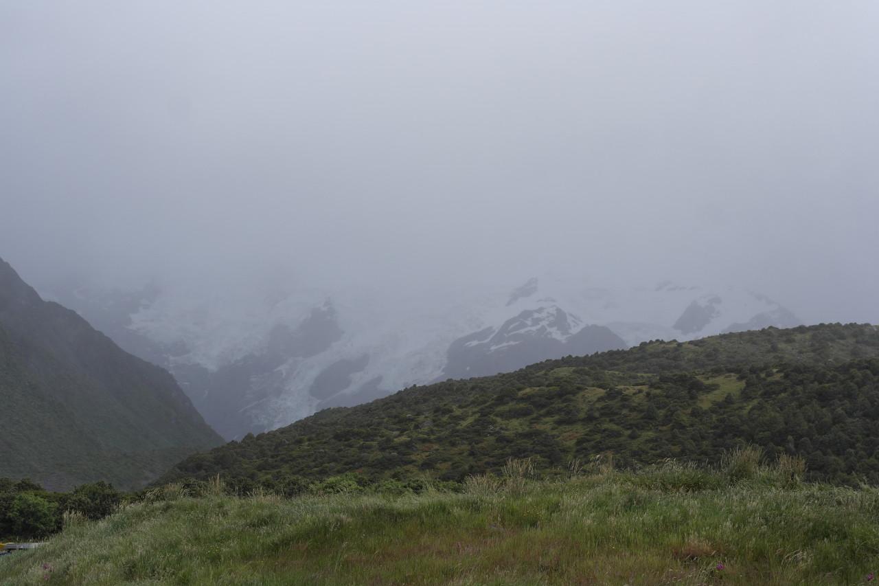 005 Mount Cook Glacier Rain