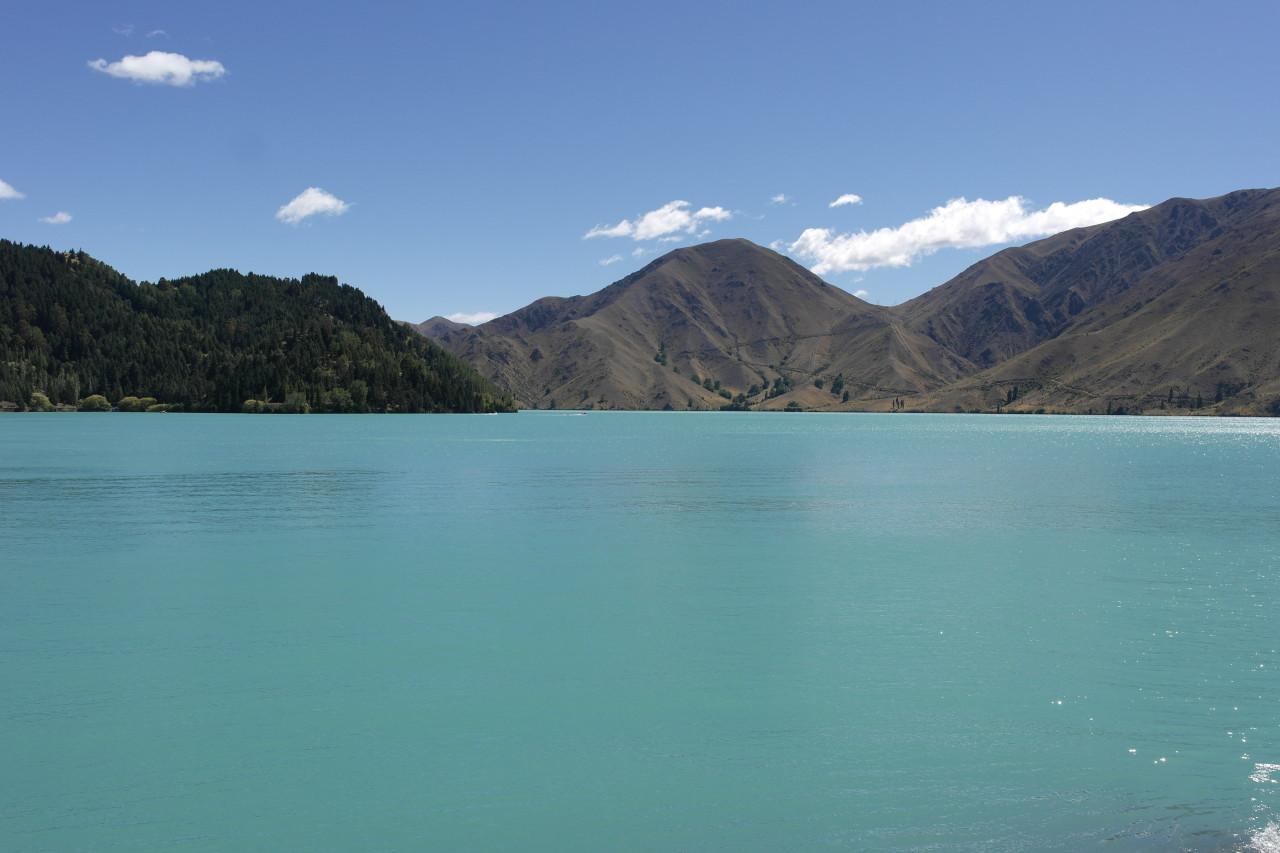 006 To Moeraki Lake Benmore Turquois