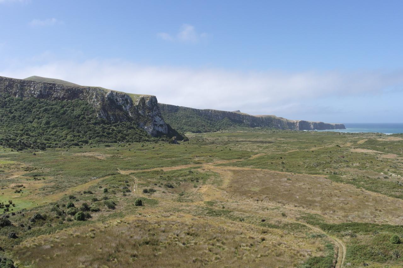Klippen in der Okia Flat
