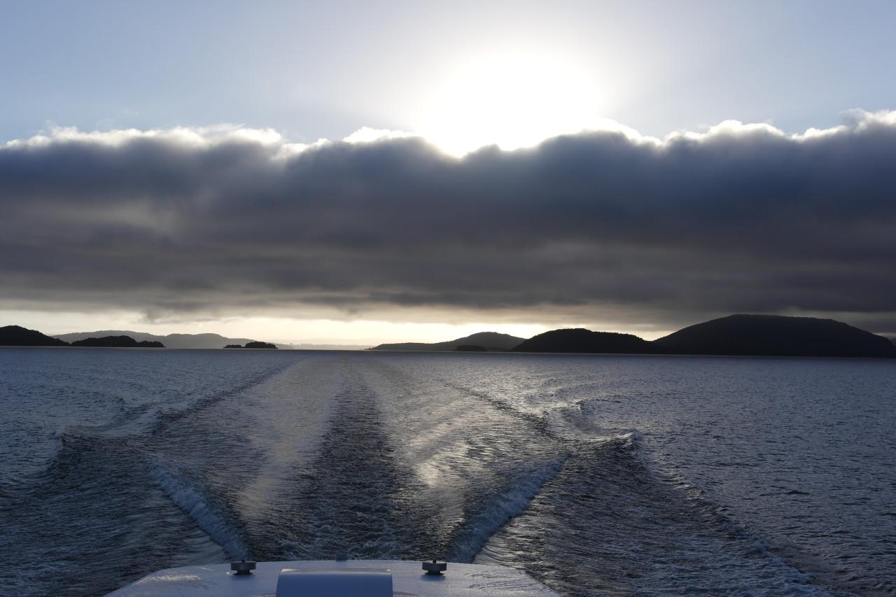 011 Doubtful Sound Manapouri Sun Cloud