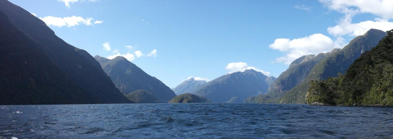 Ein letzter Blick in Richtung offenes Meer.
