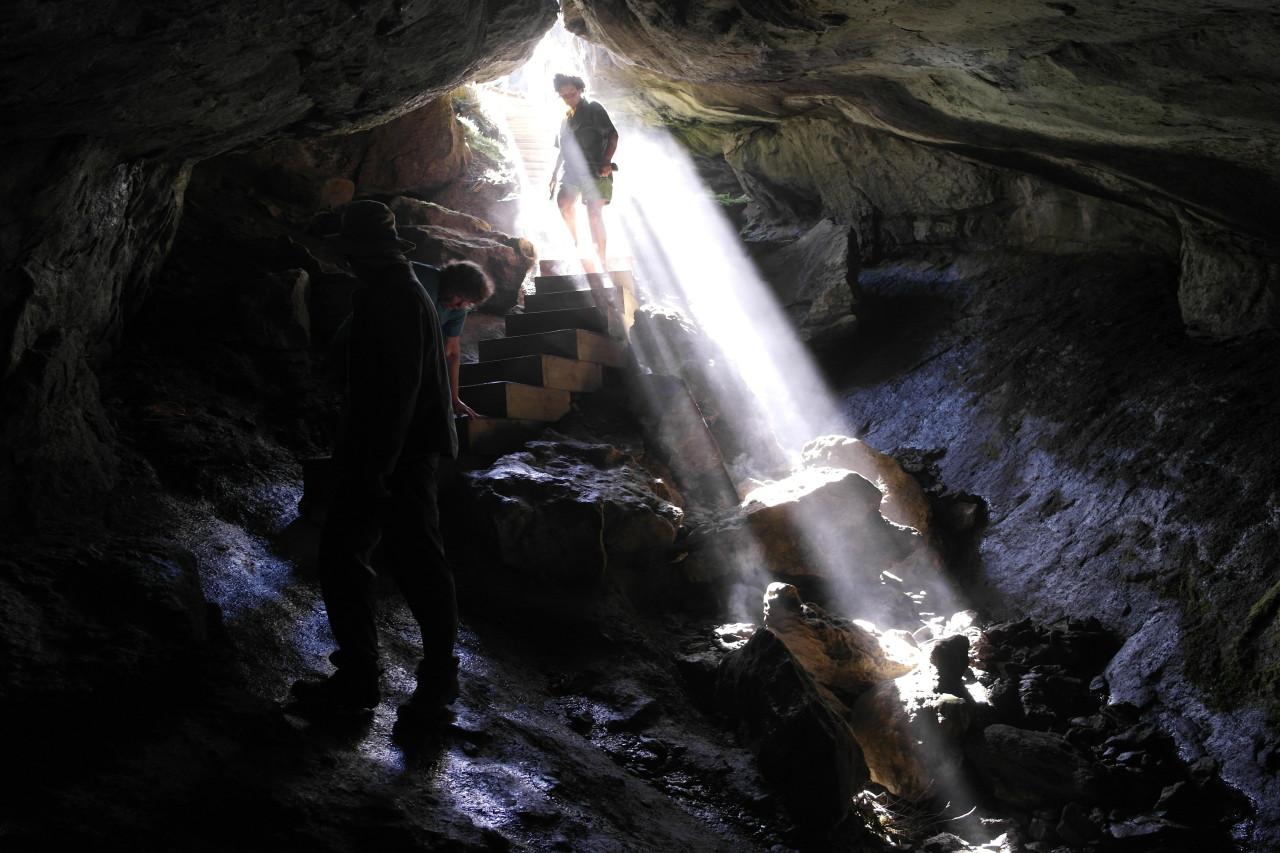 012 Kepler Track Day 1 Cave Entrance