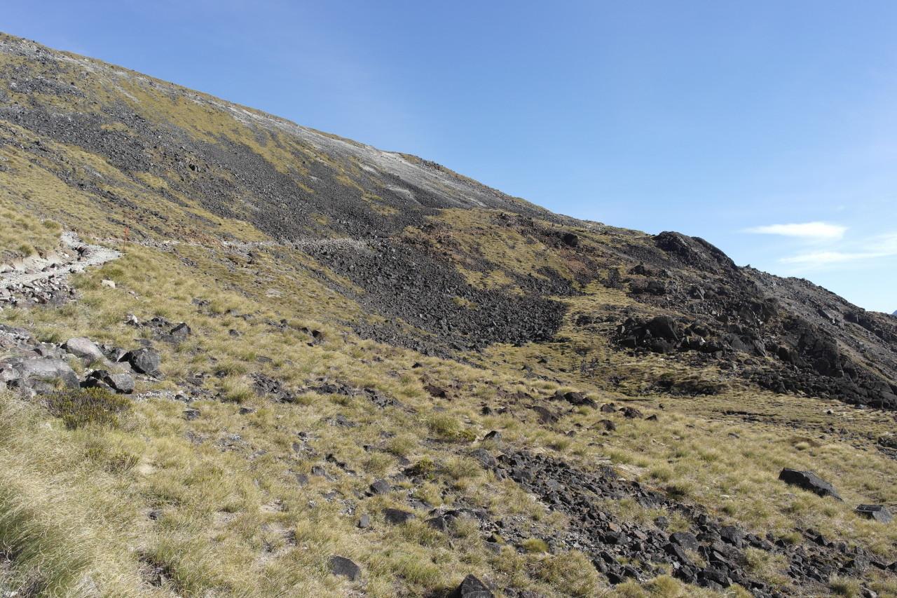 012 Kepler Track Day 2 Ascent Mount Luxmore Debris