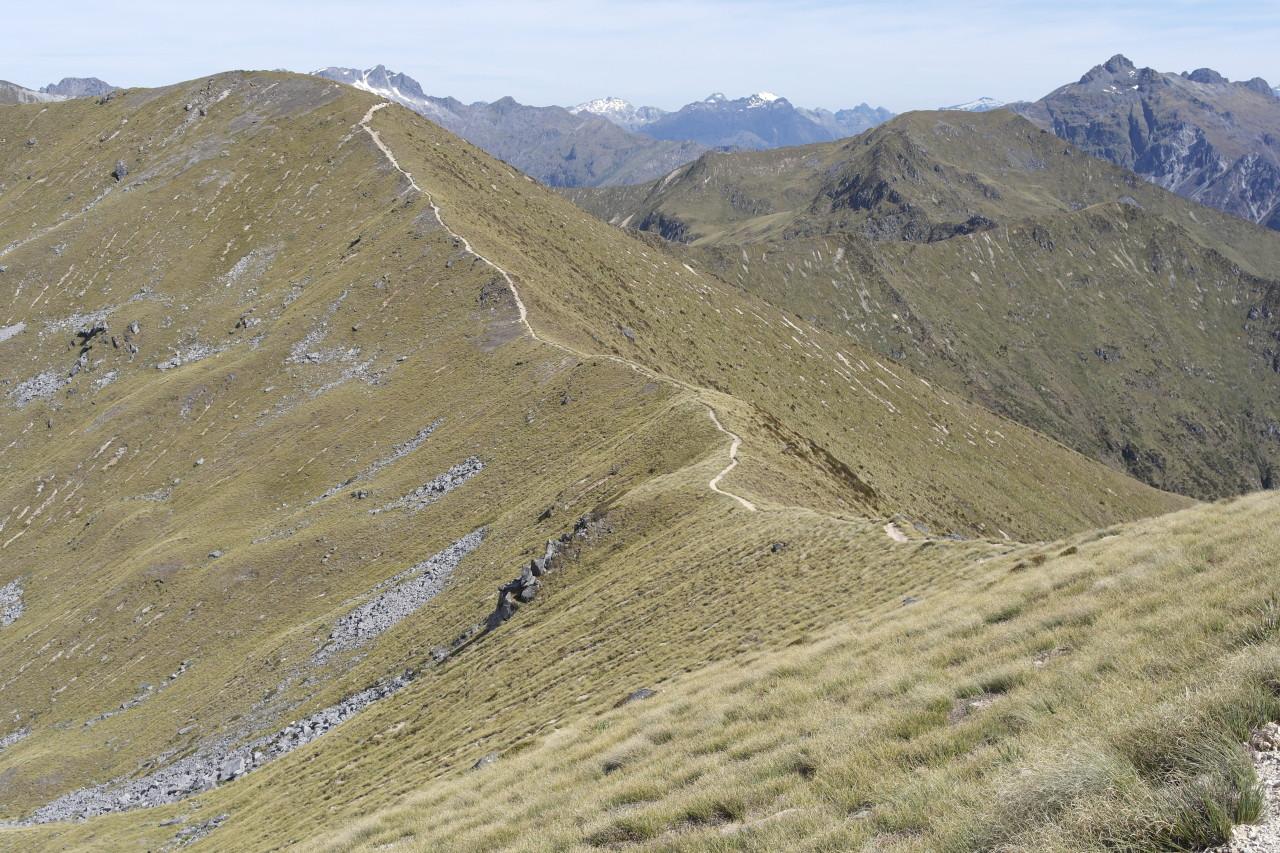 012 Kepler Track Day 2 Alpine Section Edge Walk