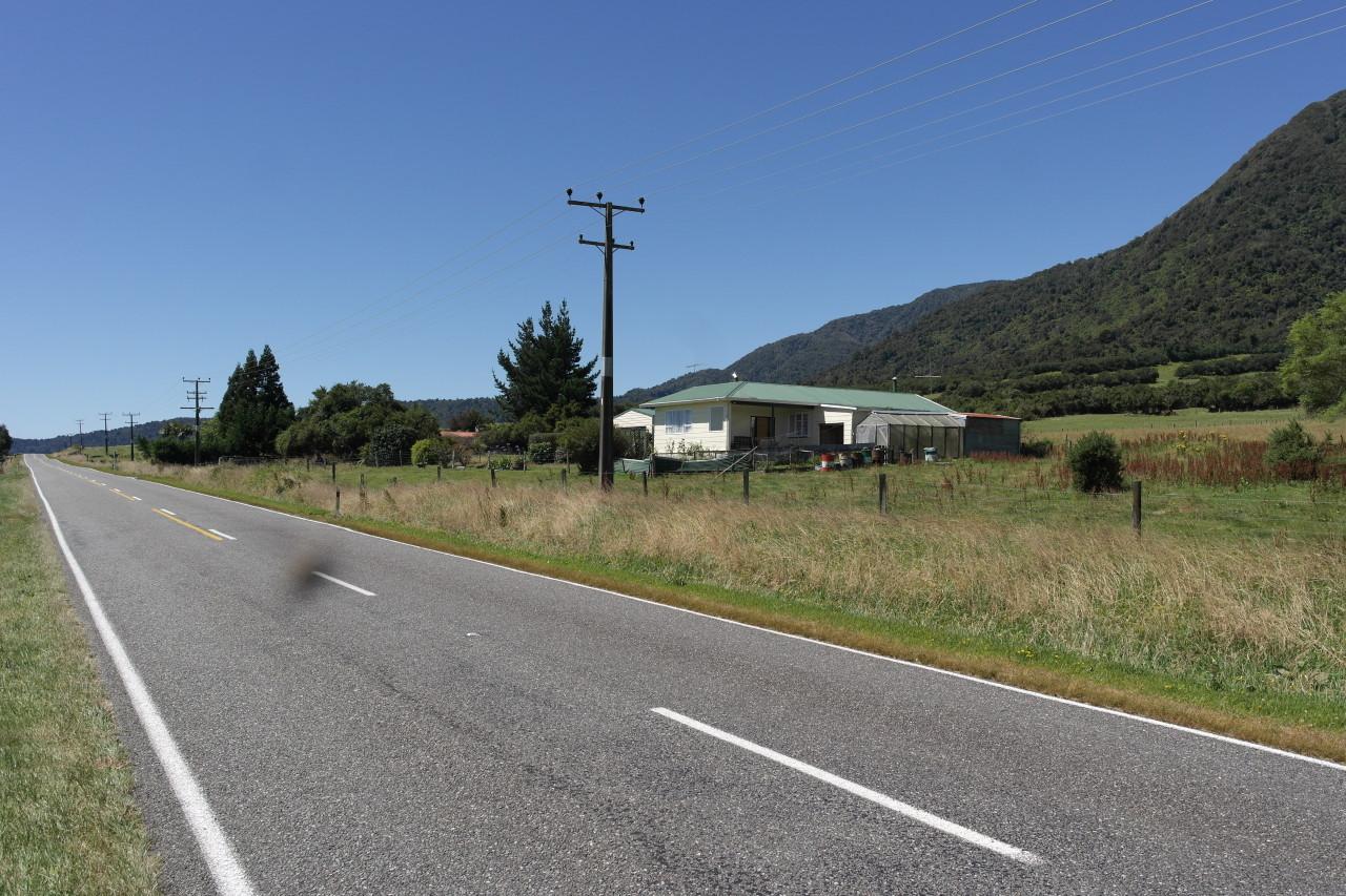 Die Leute wohnen hier wohl so ziemlich am abgelegensten in NZ.
