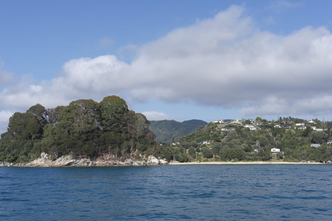 Breaker Bay vom Wassertaxi aus