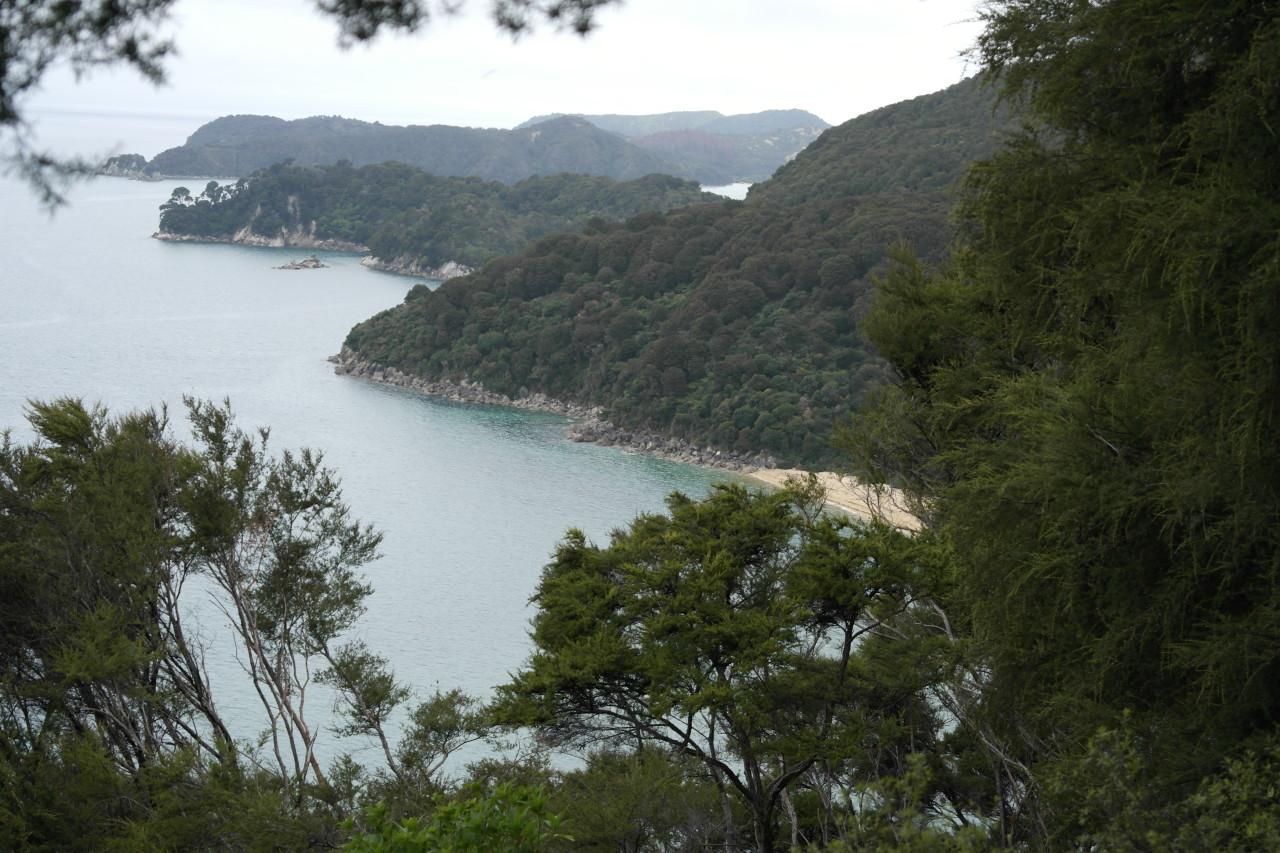 Küste bei Sandfly Bay