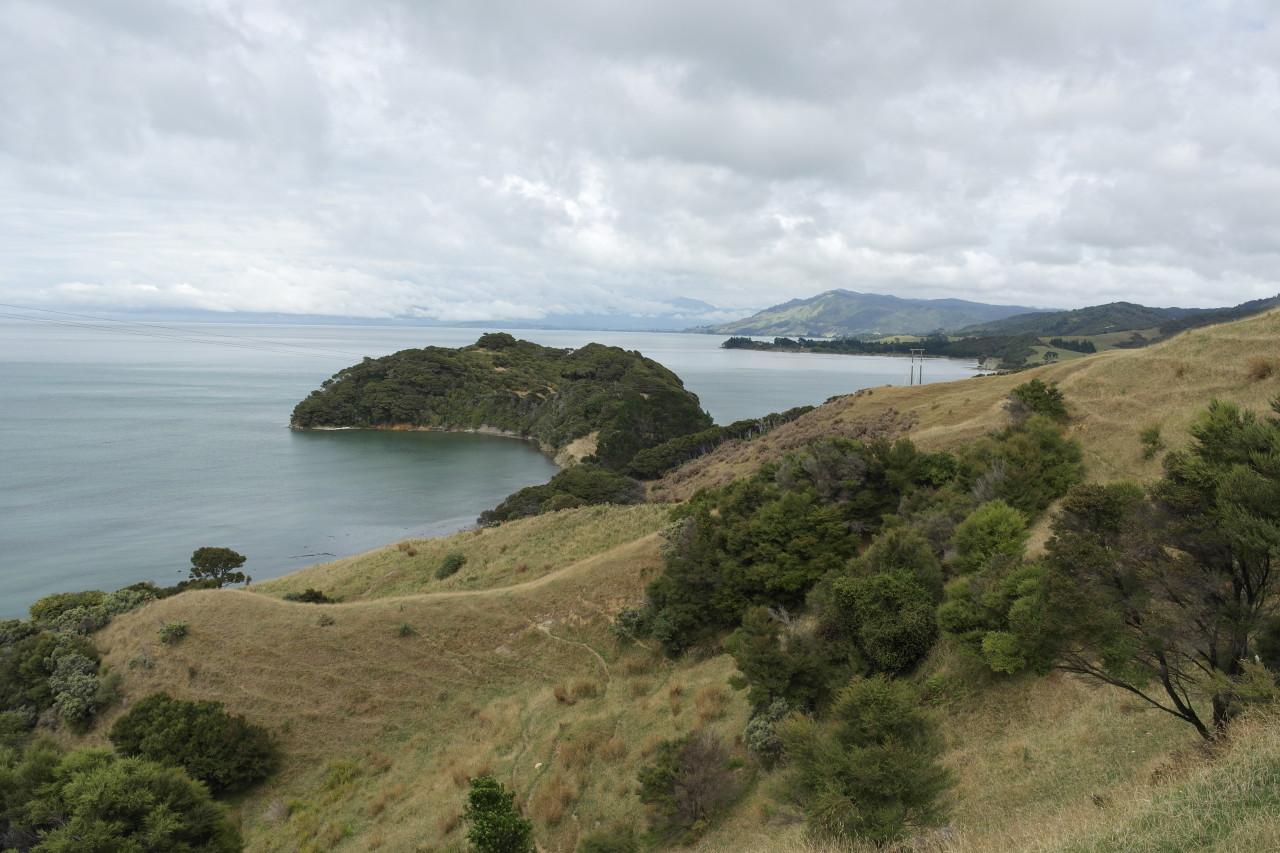 Blick zurück in die Golden Bay.