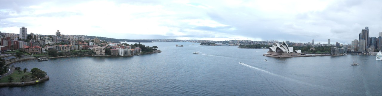 025 Sydney Harbour Pano From Bridge